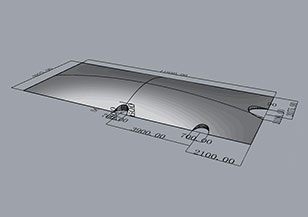 双膜集气罩对基础建设的要求高吗?